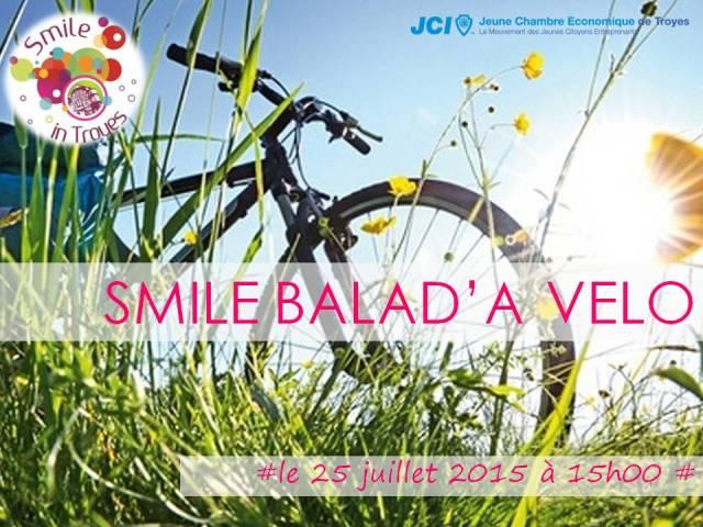 Smile Balad'à vélo